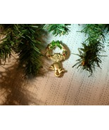 Cookie Lee Christmas Wreath with Kitty Brooch - Great Item, New! - £8.68 GBP