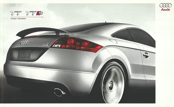 2009 Audi TT TTS sales brochure catalog US 09 2.0T 3.2