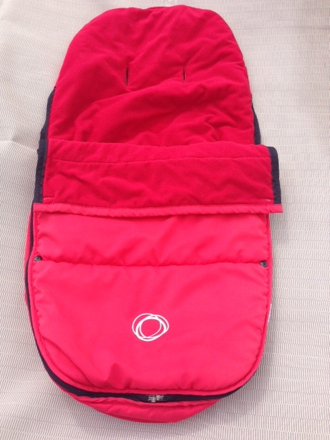 BUGABOO RED Stroller FOOTMUFF Foot Muff Cameleon Frog Gecko Bee