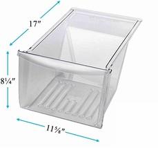 Crisper Pan Drawer For Frigidaire FFTR1814LW0 LFHT1817LB4 FFTR1821QS4 FRT8S6ESKG - $84.81