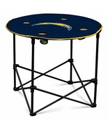 San Diego Chargers  Collapsible Round Table with 4 Cup Holders and Carry... - $45.00