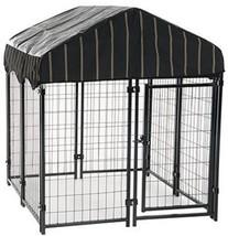 Dog Kennel Pet Cage Crate Outdoor Pen Playpen S... - $178.66