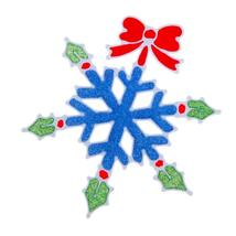 (06)Christmas Snowflake Wall Sticker Silicone Glass Sticker Large Window... - $14.00