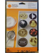 Martha Stewart Crafts 8 Halloween Cookie and Cupcake Stencils bat Vampir... - $5.99