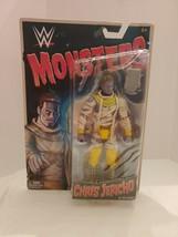 WWE Monsters Chris Jericho As Mummy __  Wrestling Action Figure Toy Mattel (3) - $14.14