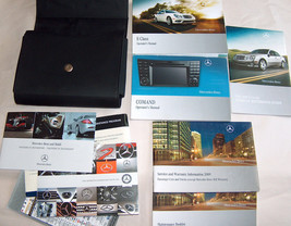 2009 MB Mercedes Benz E Class Owners Handbooks Manuals Booklets w/Snap C... - $45.98