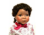 African American Doll Amazing Grace Ashton Drake Porcelain New in Box 17 inches