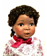 African American Doll Amazing Grace Ashton Drake Porcelain New in Box 17 inches - $132.66