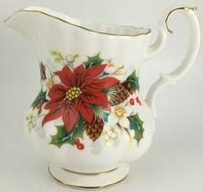 Royal Albert Poinsettia Creamer - $20.00