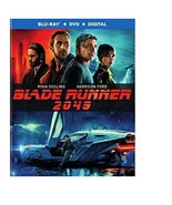 Blade Runner 2049 [Blu-ray+DVD] (2018) - $10.46