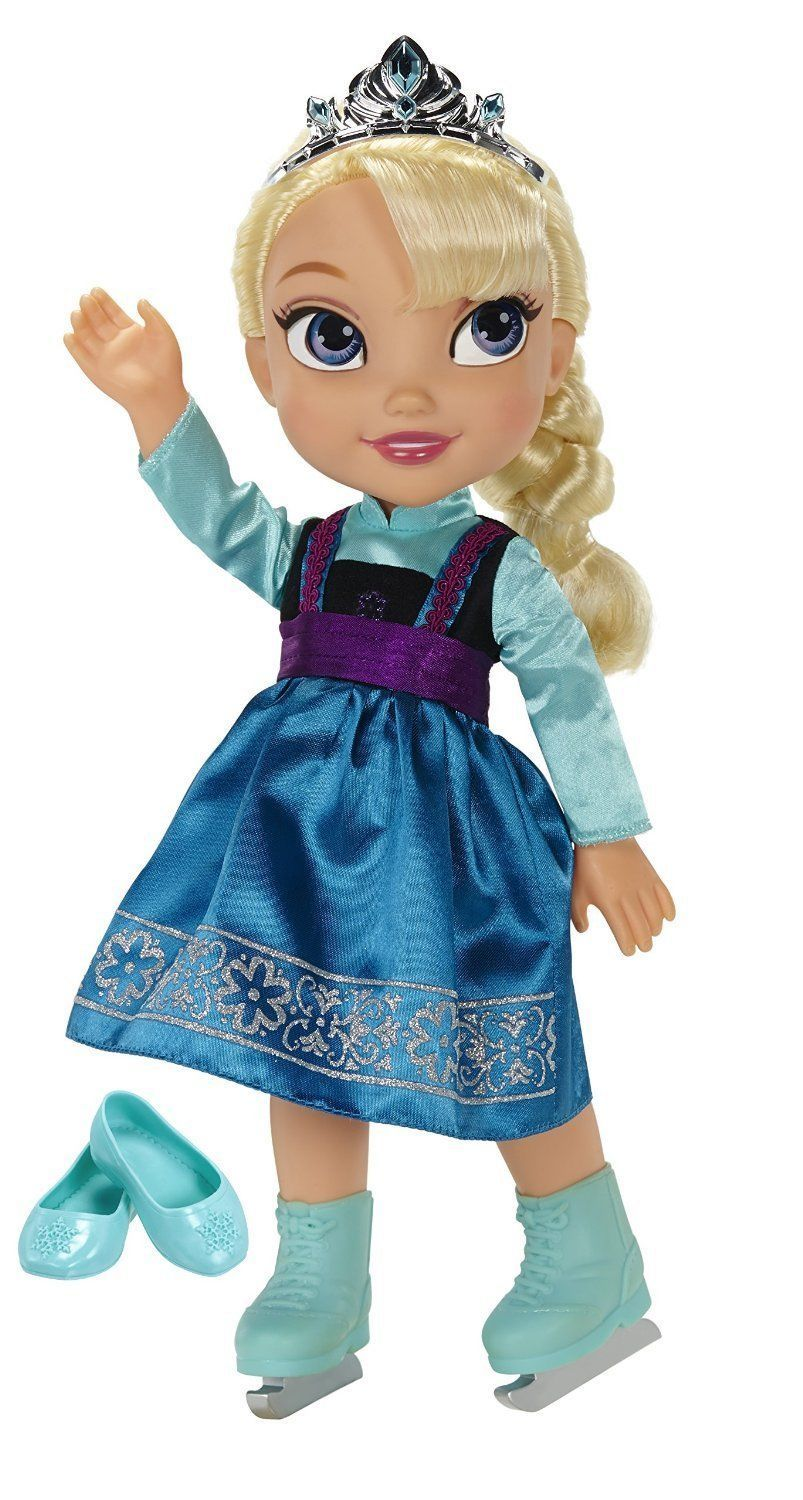 Ice Skating Princess Elsa Frozen Toddler Doll Disney, 3+ Years