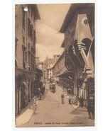 c1910 - Florence, Italy - Florence - Corner of Old Bridge - Unused  - $4.99