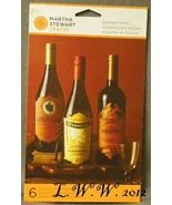 6 Martha Stewart Halloween Beverage Wine Potion Bottle Labels Goblin Ars... - $5.99