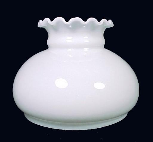 85792aa milk glass 7 inch student lamp shade
