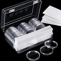 46 mm Coin Capsules Holder and Protect Gasket Coin Holder Case with Plastic - $23.11
