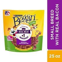 Purina Beggin' Made in USA Facilities Small Breed Dog Treats, Littles Original W image 2