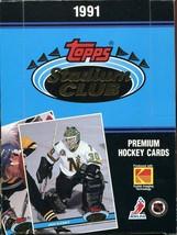 1991 NHL Hockey Topps Stadium Club ~ Factory Sealed 36 Wax Pack Box  - $8.41