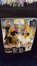 KENNY CHESNEY TIM MCGRAW Brothers of the Sun concert tour shirt 2012 siz... - $18.53