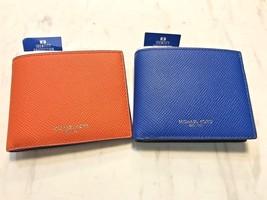 Michael Kors Men's Harrison RFID Slim Billfold Wallet in Saffiano Leathe... - $49.00