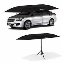 LANMODO Pro Semi-auto Car Umbrella Tent Cover Movable Carport Foldable w... - $397.91