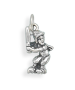 Assorted Solid Silver Female Sports Theme Charms - $21.99