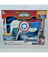 Marvel's Avengers Nerf Assembler Gear ~ Captain America ~ Blaster Dart G... - $19.77