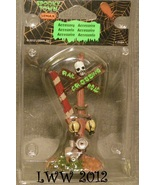 Halloween Lemax Spooky Town Village Rotten Railroad Crossing Sign Gates ... - $2.99