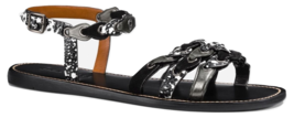 Coach CLL MXM Gladiator Leather Sandals Size 11 - $148.49