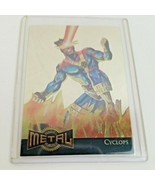 1995 Marvel Metal: Gold Blaster Cyclops Limited Edition (#3 of 18) - $165.00