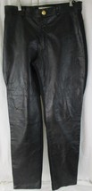 Twin's Classic Leather Collection USA Genuine Leather Pants Black Size 1... - $83.16
