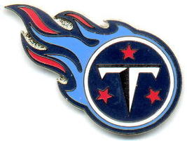 NFL Licensed Football Pin Tennessee Titans Logo Pin - $5.00