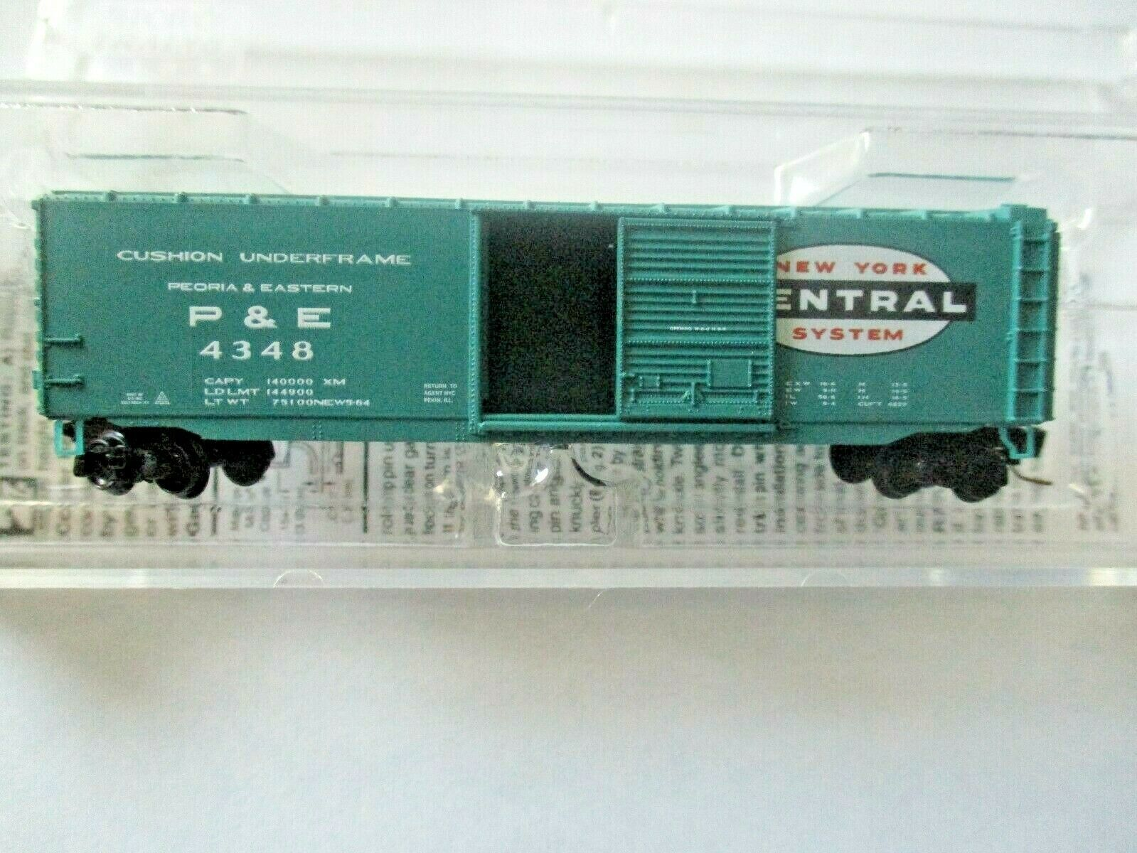 Micro-Trains # 50500442 New York Central  50' Standard Boxcar Z-Scale