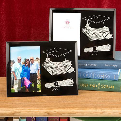 Graduation Themed Glass Frame from Gifts By Fashioncraft  - $8.99