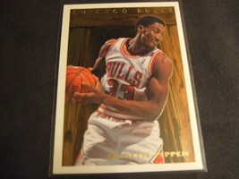 1995-96 Topps Pan For Gold #PFG10 Scottie Pippen -Chicago Bulls- - $9.89