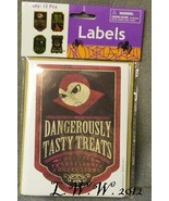 12 Halloween Treat Labels Treat bag Labels Potion Bottle Labels Vampire ... - $6.99