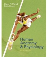 HUMAN ANATOMY & AND PHYSIOLOGY 7TH US EDITION 2008 BY ELAINE MARIEB KATJ... - $28.95