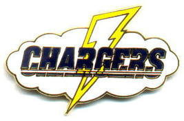 NFL Licensed Football Pin San Diego Chargers Logo Pin - $5.00