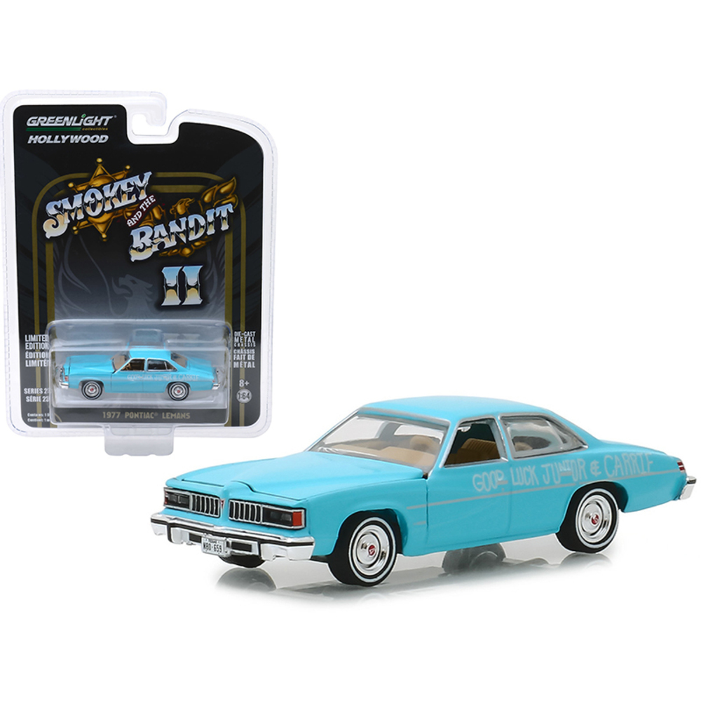 1977 Pontiac LeMans Wedding Car Blue Smokey and the Bandit II (1980) Movie Holly