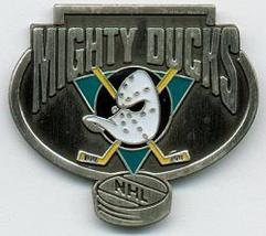 NHL Licensed Pin Anaheim Mighty Ducks Hockey Pewter Pin - $5.00