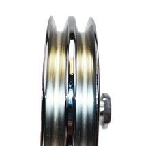 GM Saginaw Power Steering Pump Double-Groove Steel Pulley (Chrome) image 4