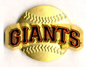 MLB Licensed Pin San Francisco Giants Baseball Pin