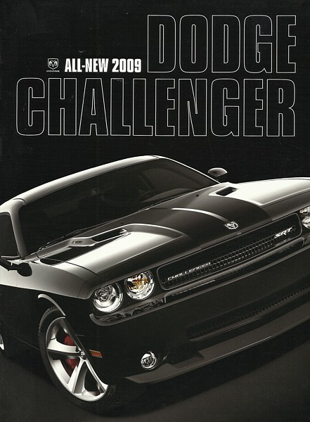 2009 Dodge CHALLENGER sales brochure catalog 09 R/T SRT8 HEMI
