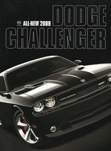2009 Dodge CHALLENGER sales brochure catalog 09 R/T SRT8 HEMI - $10.00