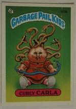 Curly Carla Vintage Garbage Pail Kids #103B Trading Card 1986 - $2.96