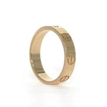 Cartier Mini Love Ring PG US3.5-4 K18 Pink Gold Used Excellent++ condition  - $739.71
