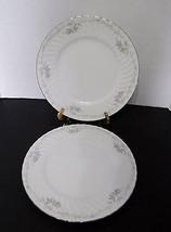 Gold Standard Genuine Porcelain China Pink Roses Dinner Plates Japan Sil... - $14.80
