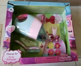 Disney Store Disney Junior Minnie Mouse Vacuum Cleanup Playset - $20.00