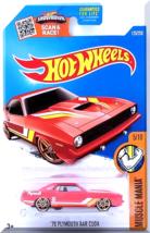 Hot Wheels - '70 Plymouth AAR Cuda: Muscle Mania #5/10 - #125/250 (2016) *Red* - $2.00