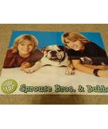 Cole Sprouse Dylan Sprouse High School Musical teen magazine poster clip... - $4.00