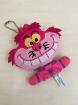 Disney Cheshire Cat Plush Doll Keychain From Alice in Wonderland. RARE - $19.00